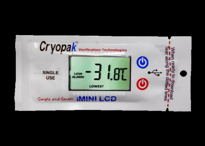 iMINI LCD Single Use Data Logger